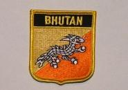 Wappenaufnäher Bhutan