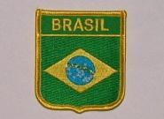 Wappenaufnäher Brasilien Brasil