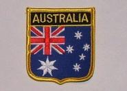 Wappenaufnäher Australien Australia