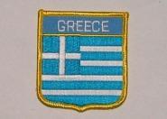 Wappenaufnäher Greece Griechenland