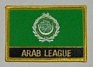 Aufnäher Arabische Liga mit Schrift