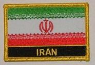 Aufnäher Iran mit Schrift