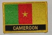 Aufnäher Kamerun mit Schrift