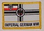 Aufnäher Kaiserliche Marine mit Schrift