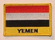 Aufnäher Jemen mit Schrift