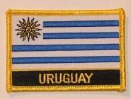Aufnäher Uruguay mit Schrift