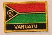 Aufnäher Vanuatu mit Schrift