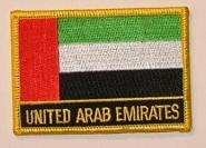 Aufnäher Vereinigte Arabische Emirate ( VAE ) mit Schrift