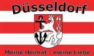 Fahne Düsseldorf Fanflagge 90 x 150 cm