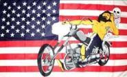 Fahne Easy Rider 60 x 90 cm