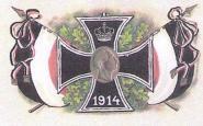 Fahne Eisernes Kreuz 1914 150 x 250 cm