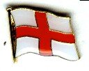 Pin England 17 x 12 mm