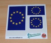 Aufkleberbogen Europa