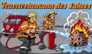 Fahne Feuerwehrmann des Jahres 90 x 150 cm
