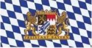 Fahne Freistaat Bayern 150 x 250 cm