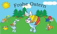 Fahne Frohe Ostern 3 60 x 90 cm