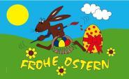 Fahne Frohe Ostern 3 90 x 150 cm