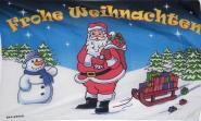 Fahne Frohe Weihnachten 2 90 x 150 cm