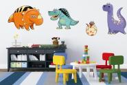 Wandtattoo Funny Dino-Set