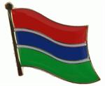 Pin Gambia 20 x 17 mm