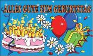 Fahne Geburtstag 2 90 x 150 cm