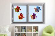 Fenstertattoo Geschenke Set