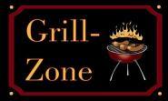Fahne Grill-Zone 90 x 150 cm