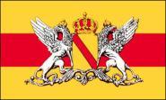 Fahne Großherzogtum Baden 90 x 150 cm