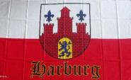 Fahne Hamburg Harburg 90 x 150 cm