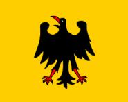 Fahne Heiliges Römisches Reich Deutscher Nation bis 1401 90 x 150 cm