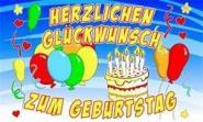Fahne Herzlichen Glückwunsch zum Geburtstag 2 90 x 150 cm
