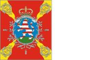 Fahne Standarte Hessen Leib/ Füsilier Regiment du Corps Erbprinz Kompaniefahne 120 x 140 cm