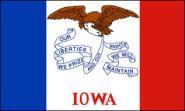Aufkleber Iowa