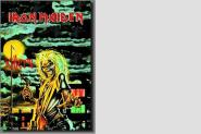 Posterflagge Iron Maiden Killers 105 x 75 cm