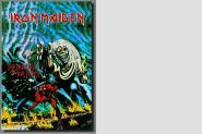 Posterflagge Iron Maiden The number of the Beast 105 x 75 cm