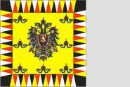 Fahne Kaiserstandarte Österreich-Ungarn 150 x 150 cm