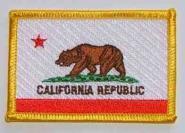 Aufnäher Kalifornien