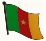 Pin Kamerun 20 x 17 cm