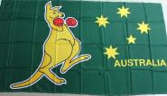 Fahne Känguruh Australien 90 x 150 cm