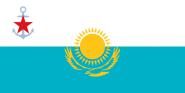 Flagge Kasachstan Seekriegsflagge