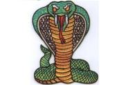 Aufnäher Kobra