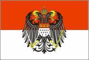 Fahne Köln mit großem Wappen 90 x 150 cm
