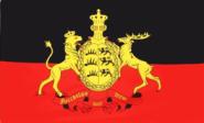 Flagge Königreich Württemberg 30 x 44 cm
