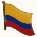 Pin Kolumbien 20 x 17 cm