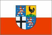 Flagge Landkreis Wartburg