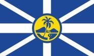 Fahne Lord Howe Island 90 x 150 cm
