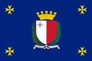Flagge Malta Präsident