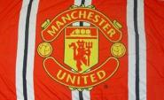 Fahne Manchester United Stripes 91 x 152 cm