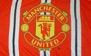 Fahne Manchester United Stripes 91 x 152 cm
