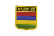 Wappenaufnäher Mauritius
